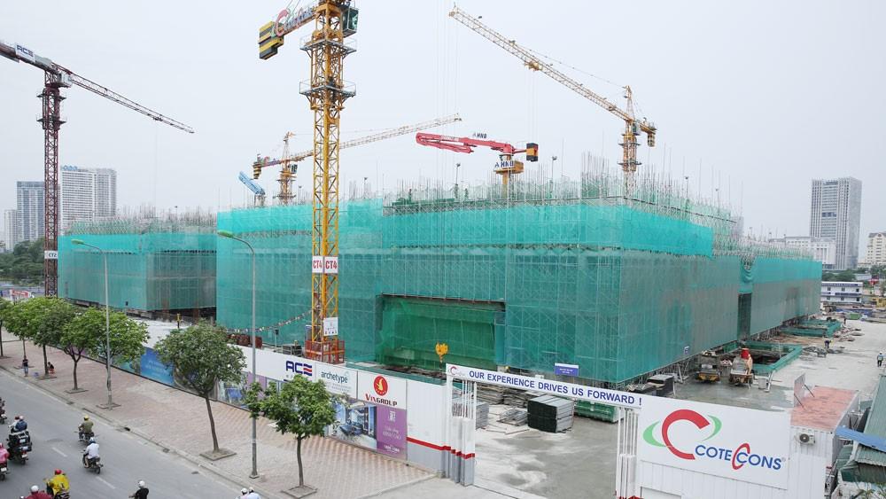 Các nhà thầu Việt đã có những bước tiến vượt bậc trong việc thay thế nhà thầu ngoại trong vai trò tổng thầu ở nhiều dự án lớn. Ảnh: Tiên Giang