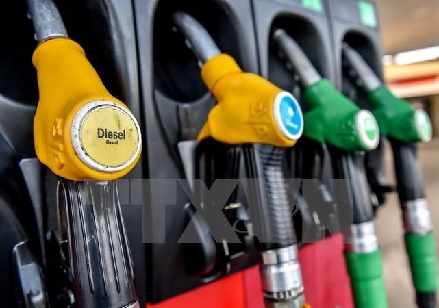 Một trạm bơm nhiên liệu ở Bailleul, Pháp. (Nguồn: AFP/TTXVN)
