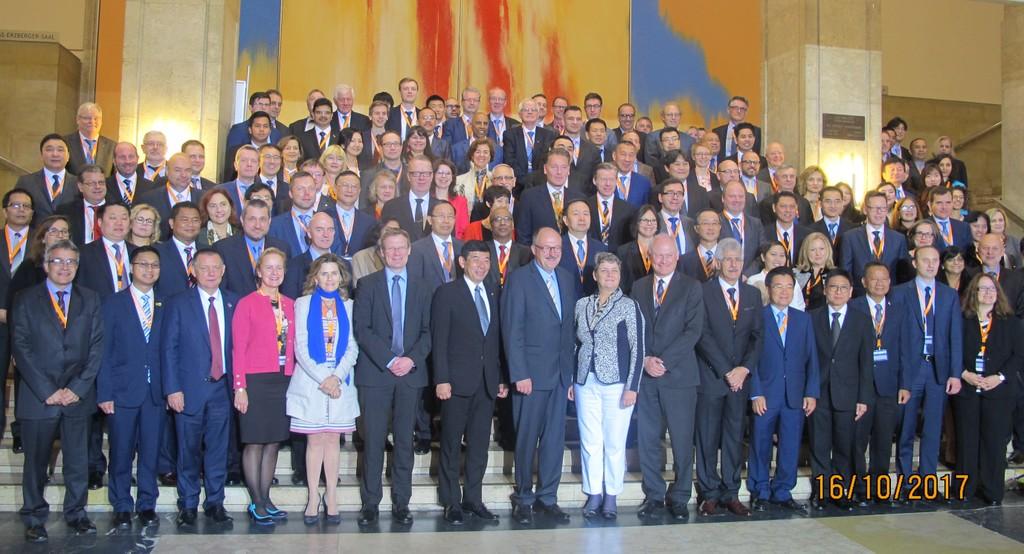Hội nghị Tổng cục trưởng Hải quan các nước ASEM lần thứ 12 tại Đức năm 2017. Ảnh: Tổng cục Hải quan