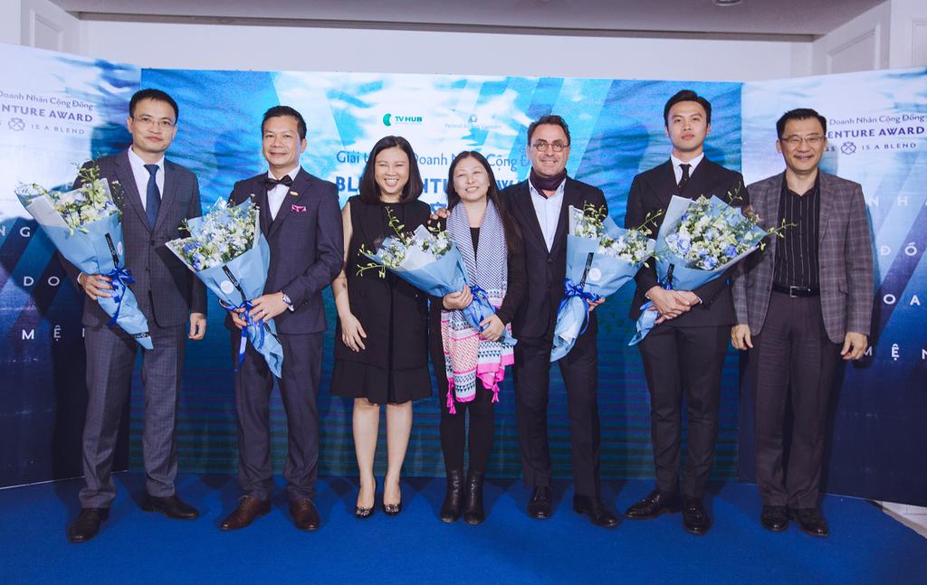 Blue Venture Award được tổ chức nhằm tìm kiếm và kết nối các tổ chức kinh doanh khởi nghiệp có ảnh hưởng mạnh mẽ lên đời sống xã hội