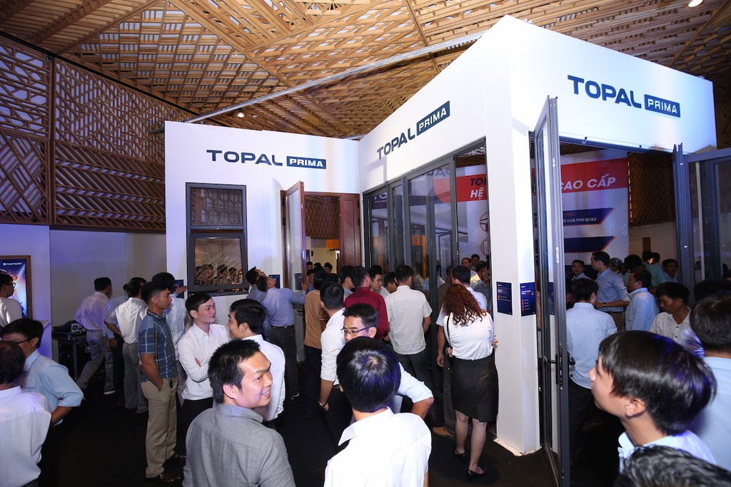 Sản phẩm cửa nhôm cao cấp Topal Prima chính thức ra mắt