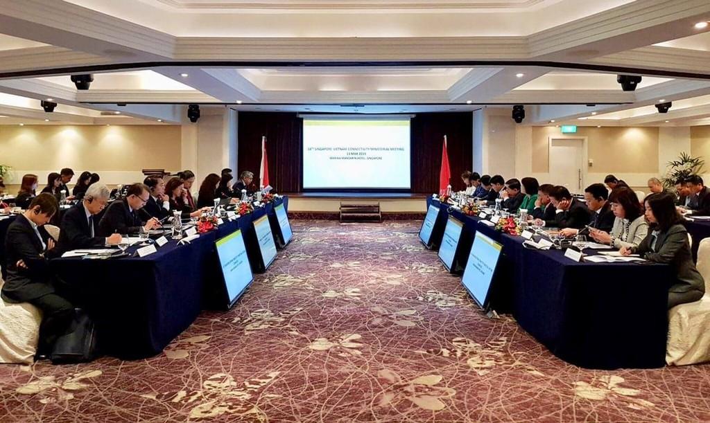 Toàn cảnh Hội nghị cấp Bộ trưởng lần thứ 14 về Kết nối kinh tế Việt Nam - Singapore