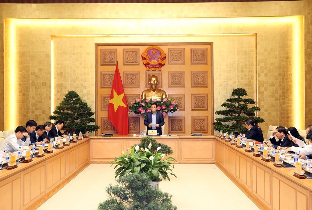 """Nội hàm chủ đề điều hành kinh tế - xã hội của năm 2019 của Chính phủ là """"tăng tốc"""".  Ảnh: Thành Trung"""