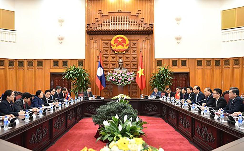 Ưu tiên cao việc giữ gìn quan hệ đoàn kết đặc biệt Việt- Lào - ảnh 2