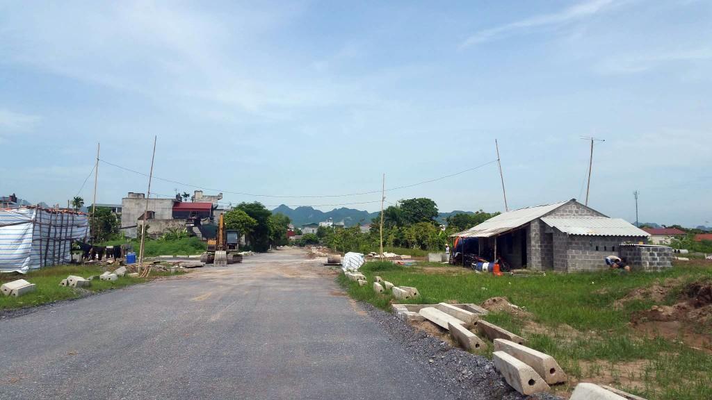 Đấu giá quyền sử dụng đất tại huyện Thanh Liêm, Hà Nam