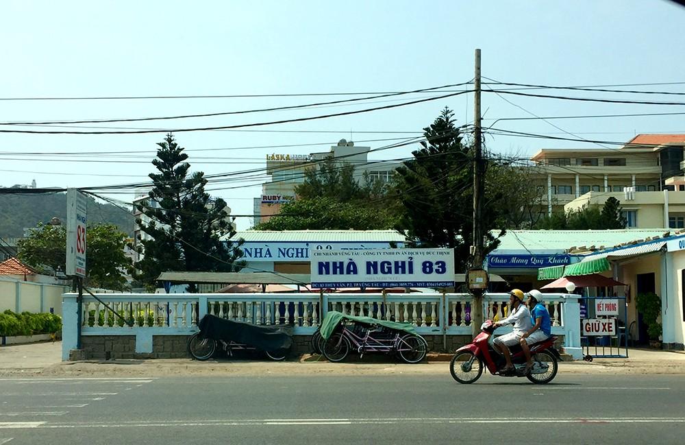 """""""Khu đất vàng"""" nằm trên đường Thuỳ Vân, TP. Vũng Tàu bị UBND tỉnh Bà Rịa – Vũng Tàu thanh tra, kết luận có nhiều vi phạm trong việc sử dụng đất của Công ty cổ phần in Trần Phú."""