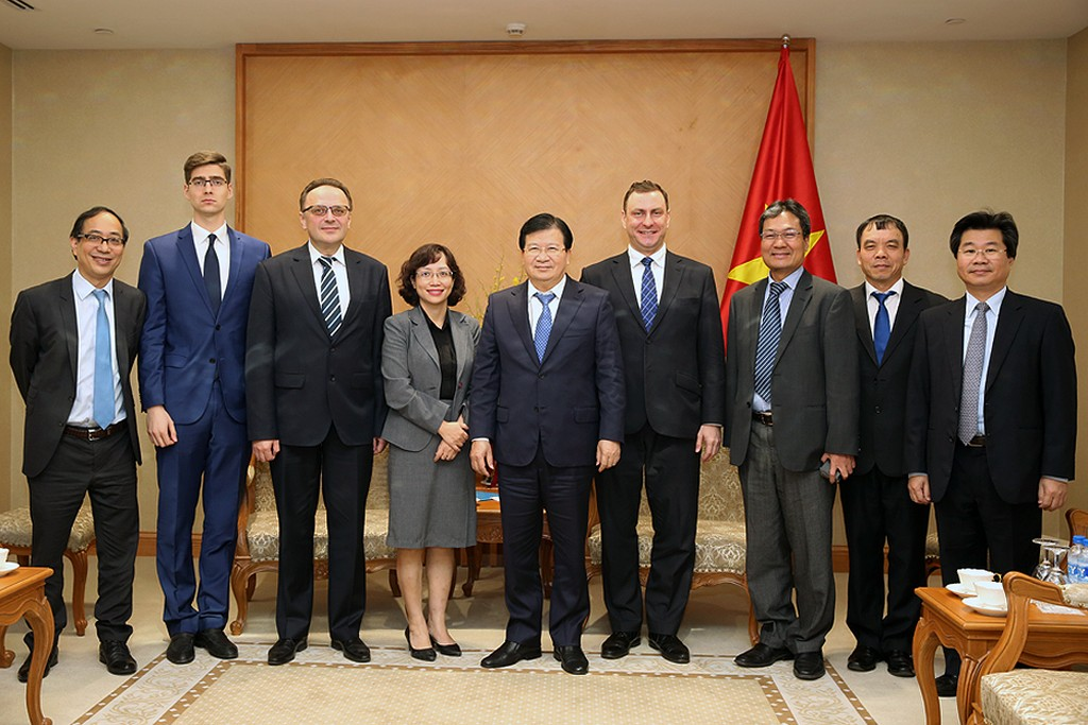 Thúc đẩy hợp tác thương mại-đầu tư Việt Nam-Belarus - ảnh 1
