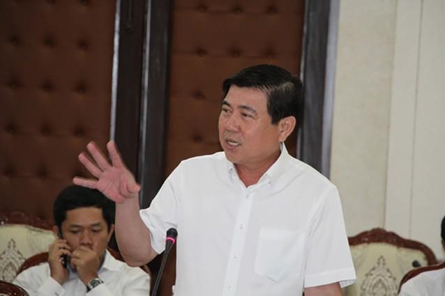 Chủ tịch UBND TPHCM Nguyễn Thành Phong (ảnh P.A)