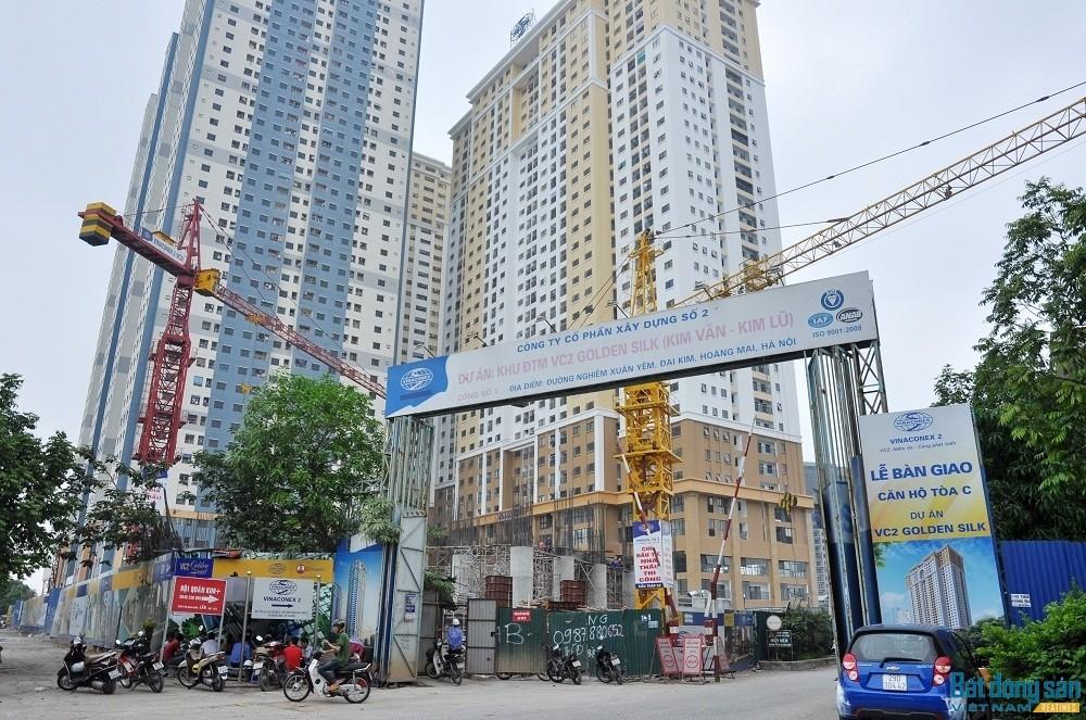 Tòa C Golden Silk chưa nghiệm thu PCCC đã đưa cư dân vào ở.