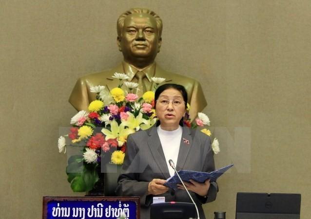 Chủ tịch Quốc hội Lào Pany Yathotou. (Nguồn: TTXVN)