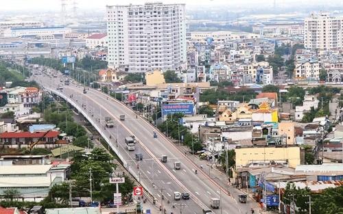 Một góc quận Bình Tân. Nguồn ảnh: SGGP