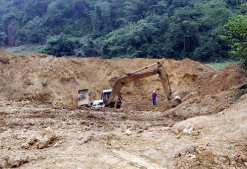 Quy hoạch 108 vùng khoáng sản tại Khánh Hòa để quản lý và khai thác hiệu quả. Ảnh minh họa: TTXVN
