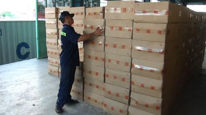Hơn 1 triệu gói thuốc lá lậu bị lực lượng chức năng thu giữ. Ảnh: CAND