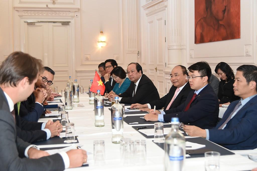 Thủ tướng tiếp lãnh đạo một số hiệp hội, tập đoàn kinh tế - ảnh 1