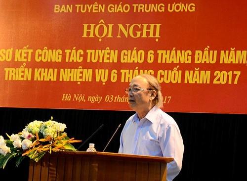 Đồng chí Võ Văn Phuông. Ảnh Dangcongsan.vn