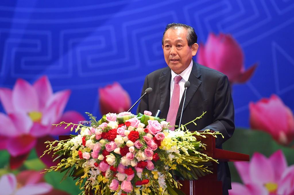 Phó Thủ tướng Thường trực Chính phủ Trương Hòa Bình.