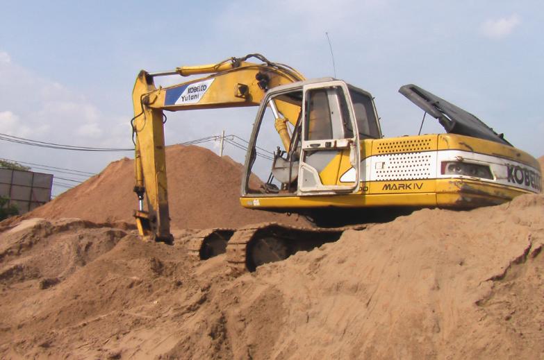 Tìm phương án cung ứng cát