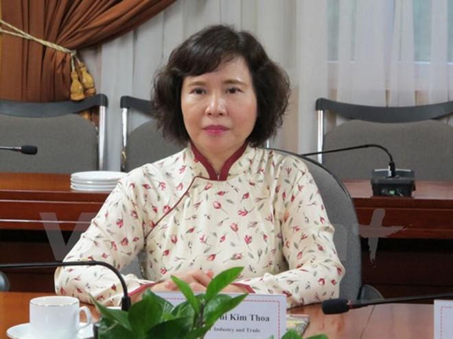 Thứ trưởng Bộ Công Thương Hồ Thị Kim Thoa (Nguồn: Internet)