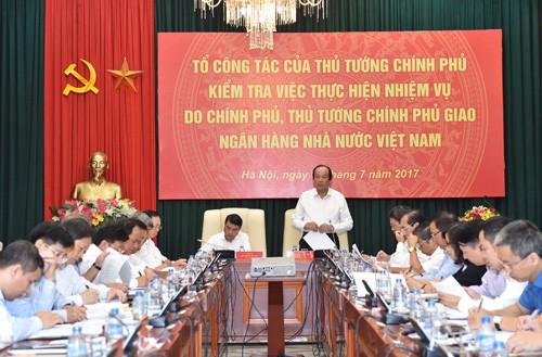 Thủ tướng yêu cầu NHNN giải trình 6 vấn đề - ảnh 1