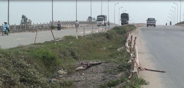 Dự án đường trục phía Nam tỉnh Hà Tây cũ hiện vẫn chưa xong hoàn toàn