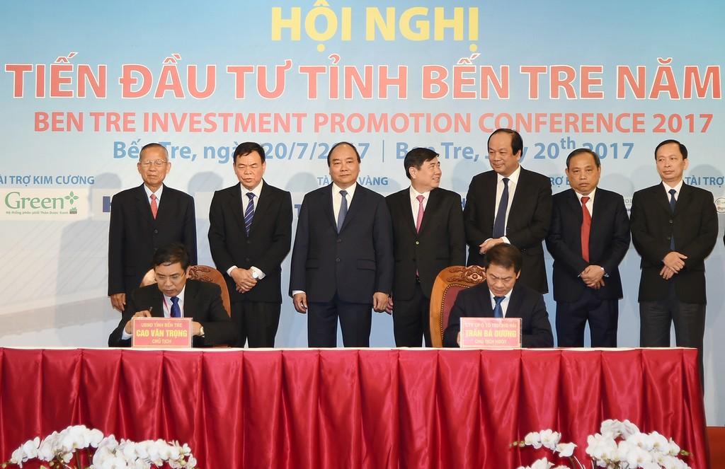 Thủ tướng nêu 4 thành tố để Bến Tre thu hút nhà đầu tư 'đẳng cấp' - ảnh 3