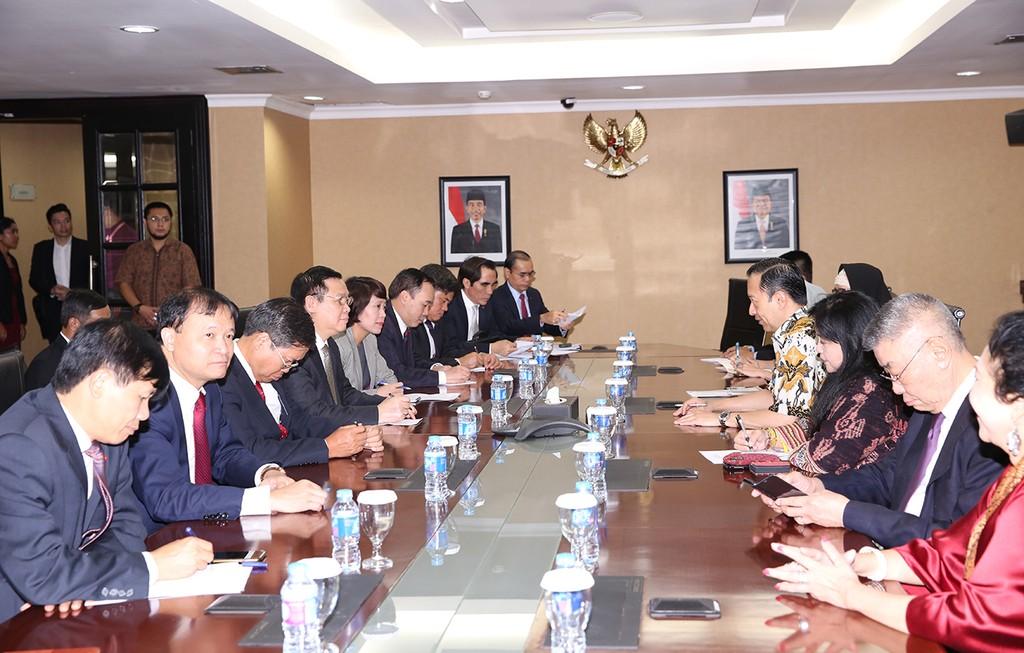 Thắt chặt quan hệ Đảng Cộng sản Việt Nam và Đảng Dân chủ Indonesia Đấu tranh - ảnh 1