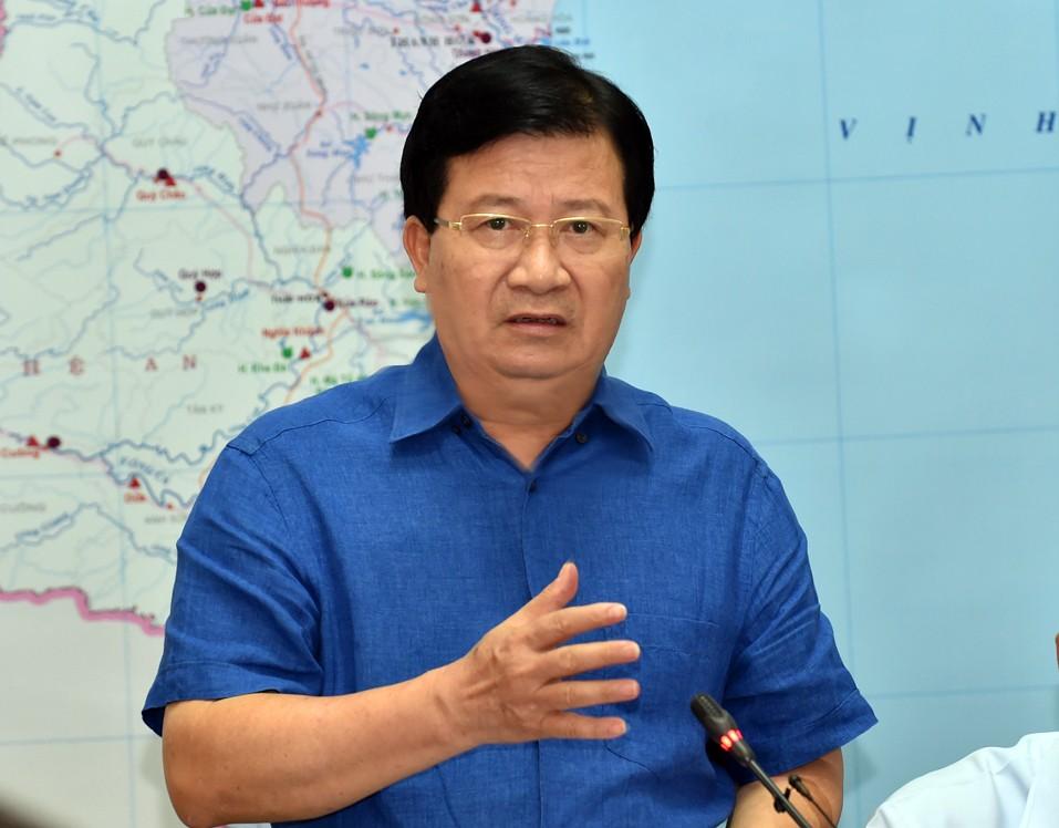 Phó Thủ tướng họp khẩn, thị sát việc xả lũ hồ thủy điện - ảnh 2