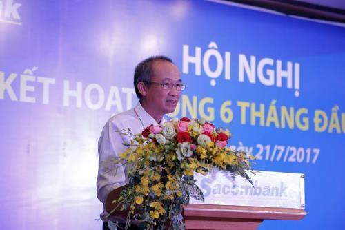Ông Dương Công Minh, Chủ tịch Hội đồng quản trị Ngân hàng TMCP Sài Gòn Thương Tín (Sacombank. Ảnh: BNEWS