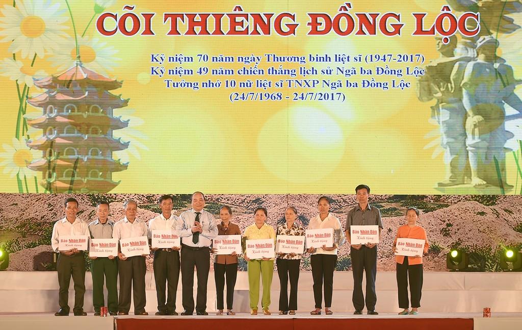 Thủ tướng dự lễ tri ân các anh hùng, liệt sĩ Ngã ba Đồng Lộc - ảnh 2
