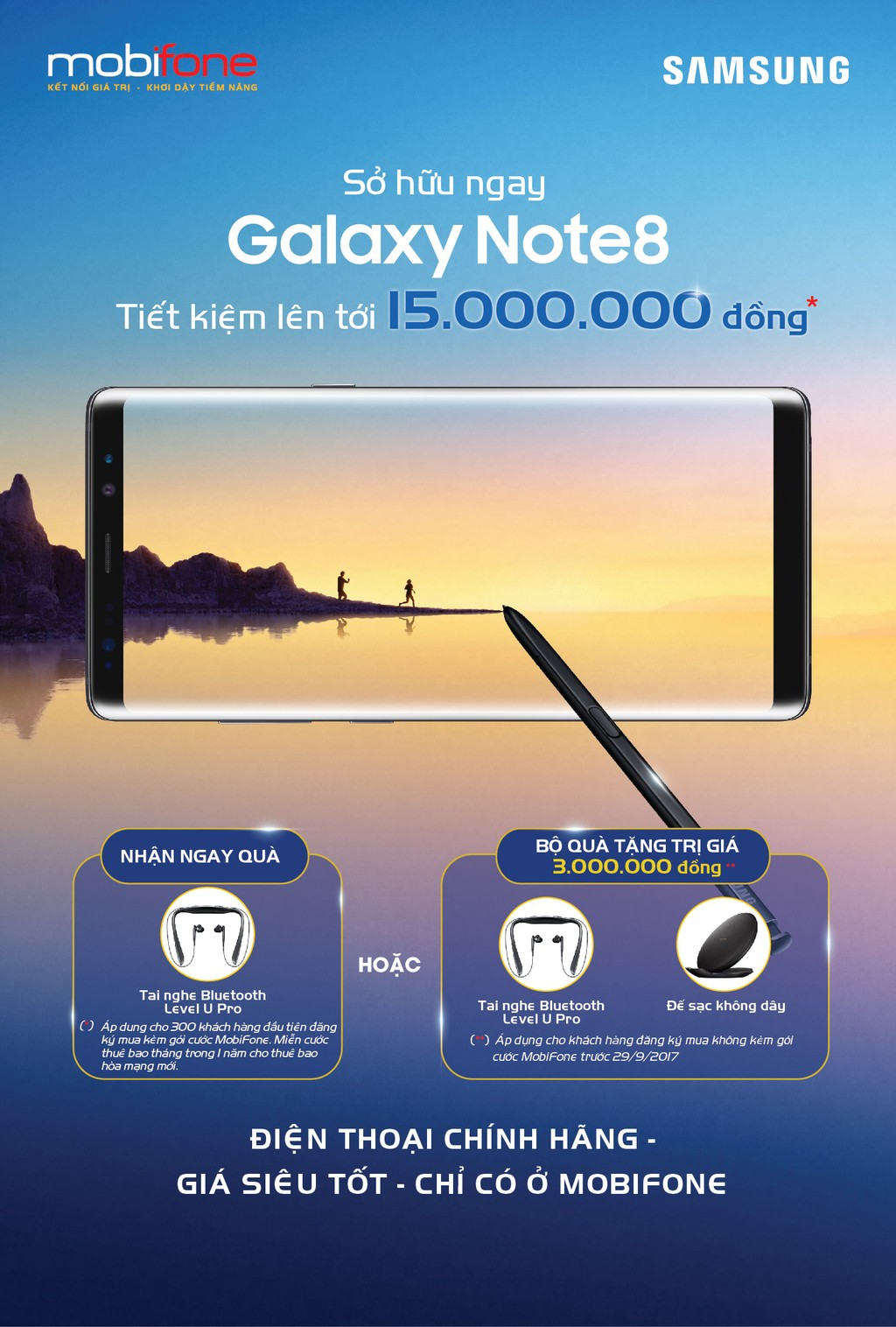 MobiFone gây bất ngờ với giá bán Galaxy Note 8 - ảnh 2