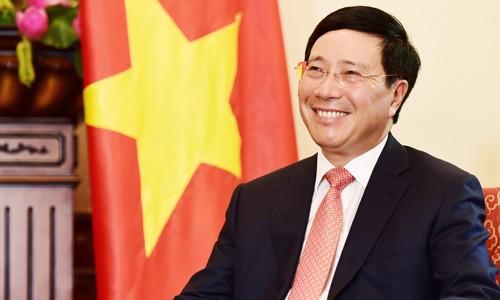Phó Thủ tướng Phạm Bình Minh.