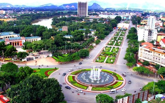 Một góc thành phố Thái Nguyên