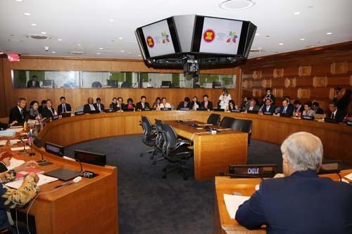 Quang cảnh cuộc họp Ngoại trưởng ASEAN-PA. Ảnh: BNG
