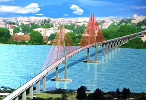 Hợp long cây cầu lớn nhất Dự án kết nối đồng bằng Cửu Long - ảnh 1