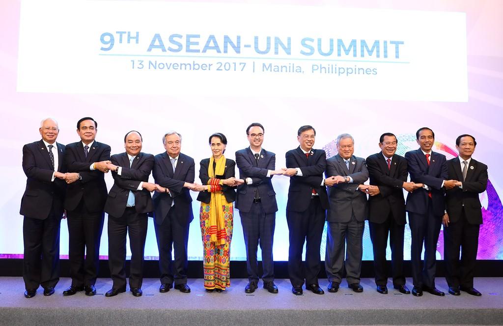 Các đại biểu dự Hội nghị Cấp cao ASEAN – Liên Hợp Quốc lần thứ 9 - Ảnh: VGP