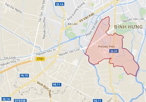 30 triệu đồng một m2 đất xã vùng ven khu Nam Sài Gòn - ảnh 1