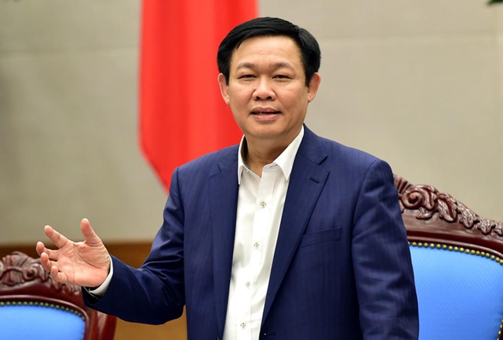 Phó Thủ tướng Vương Đình Huệ. Ảnh Internet