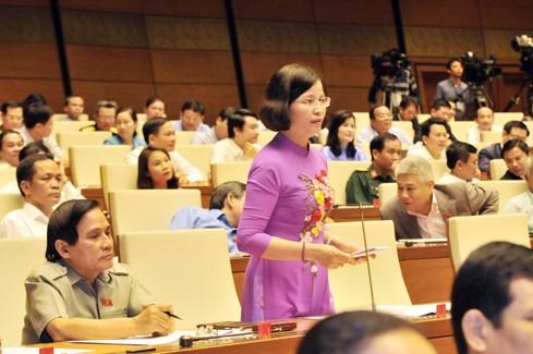 TOÀN CẢNH: Bộ trưởng Bộ Tài chính Đinh Tiến Dũng trả lời chất vấn - ảnh 2