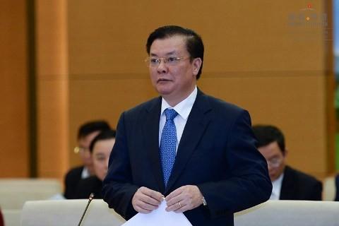 TOÀN CẢNH: Bộ trưởng Bộ Tài chính Đinh Tiến Dũng trả lời chất vấn - ảnh 6