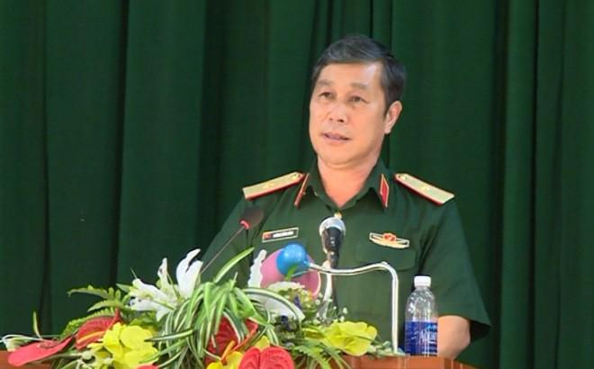 Thiếu tướng Hoàng Công Hàm. Ảnh Truyền hình Cao Bằng