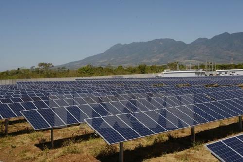 Bình Phước chấp nhận chủ trương cho dự án điện năng lượng mặt trời. Ảnh minh họa: TTXVN