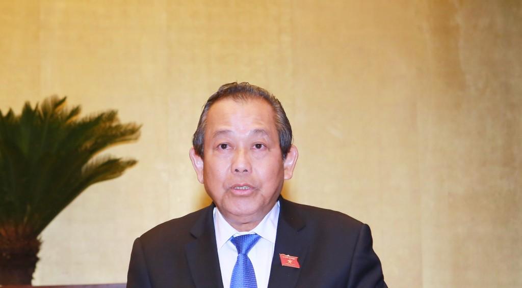 Phó Thủ tướng Thường trực Chính phủ Trương Hoà Bình.