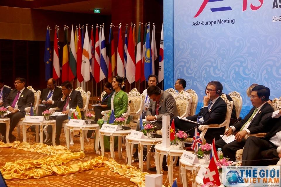 Các Bộ trưởng Ngoại giao ASEM nhất trí tăng cường quan hệ đối tác - ảnh 1