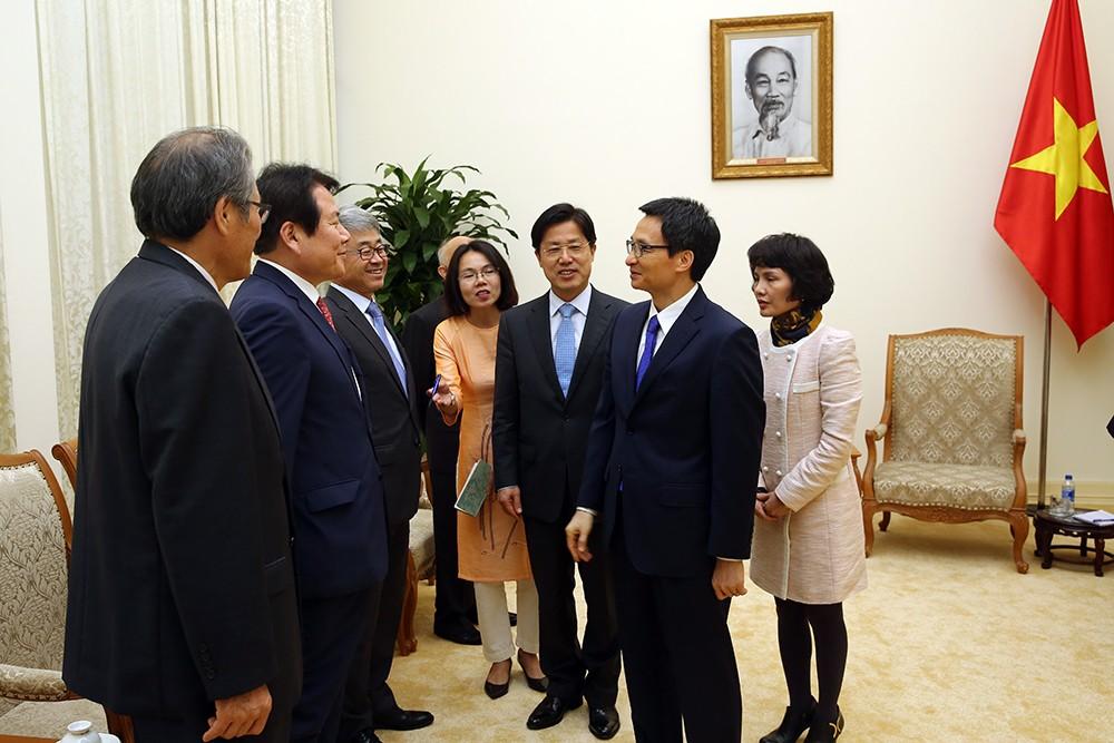 Phó Thủ tướng Vũ Đức Đam tiếp đoàn học giả Hàn Quốc - ảnh 2