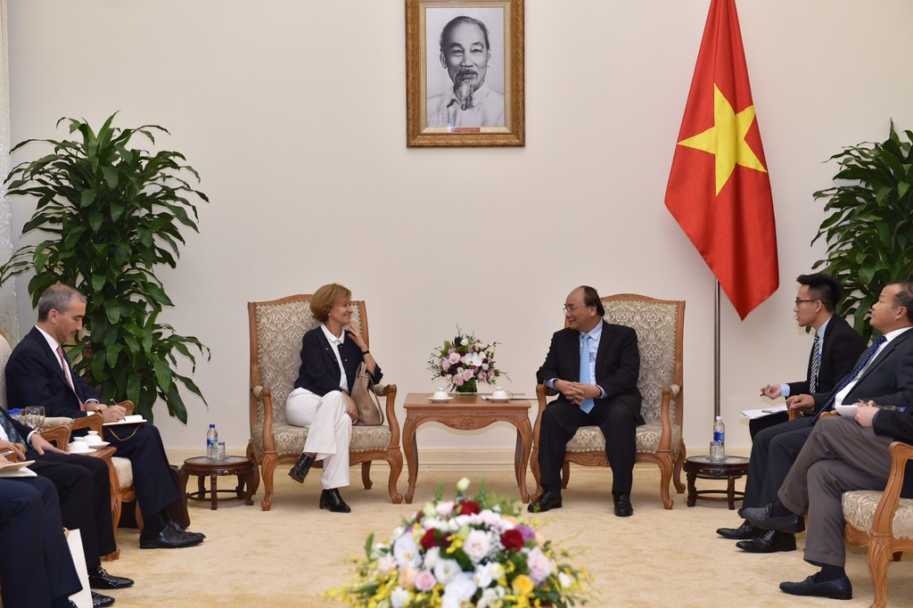 Thủ tướng tiếp Quốc vụ khanh ngoại giao Bồ Đào Nha - ảnh 1