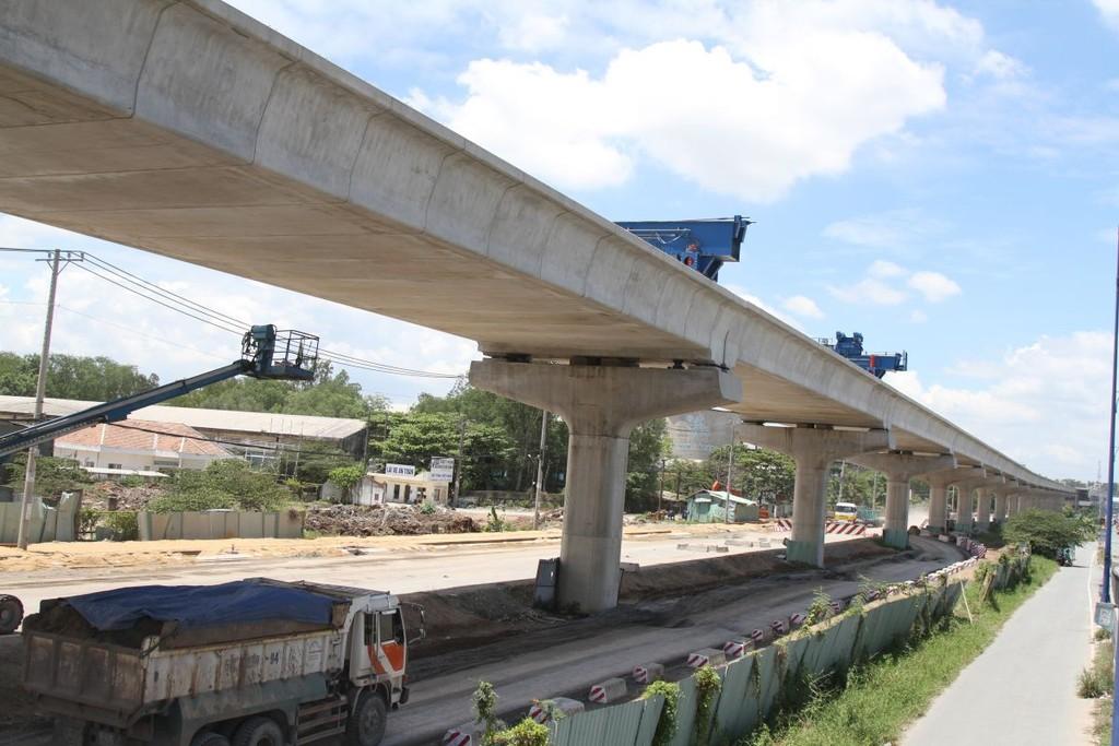 Tuyến Metro số 1 dự kiến đi vào hoạt động vào năm 2020.