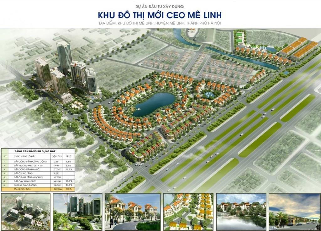 Khu đô thị mới CEO Mê Linh
