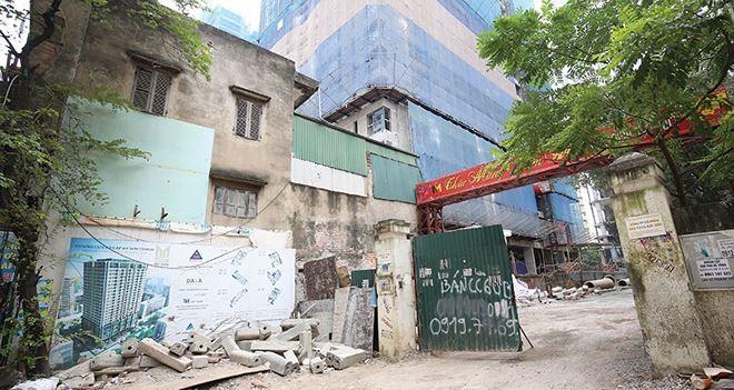 Công ty cổ phần Đầu tư và Xuất nhập khẩu Mỹ Sơn liên tục bị nhắc nợ tiền sử dụng đất tại dự án 62 Nguyễn Huy Tưởng.