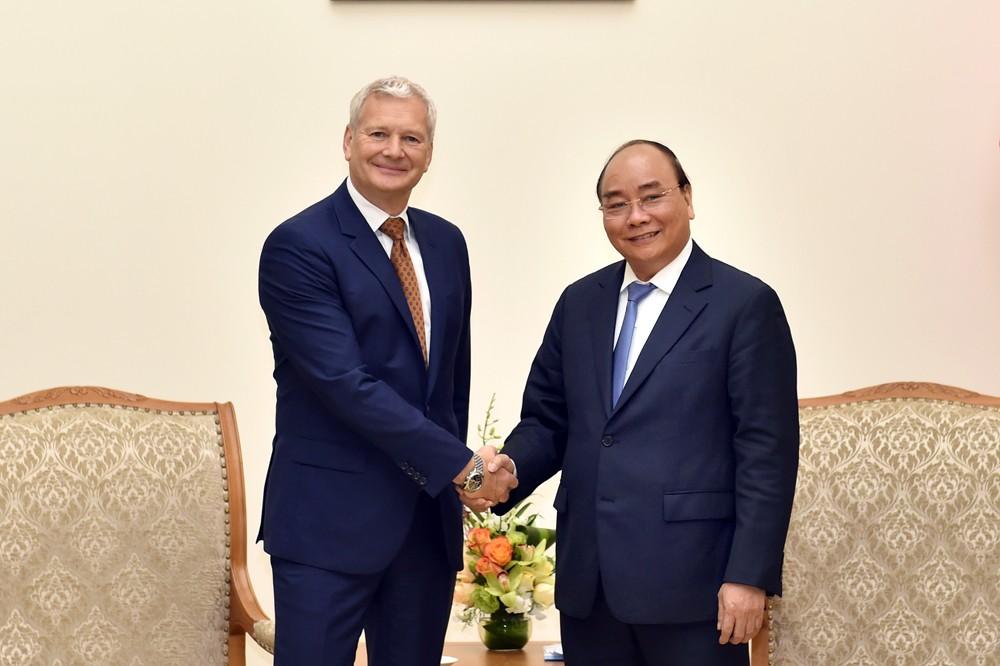 Thủ tướng tiếp lãnh đạo các tập đoàn Pháp, Australia - ảnh 2