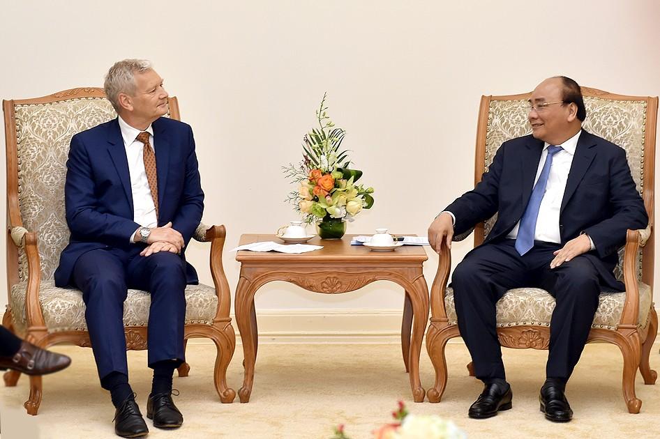 Thủ tướng tiếp lãnh đạo các tập đoàn Pháp, Australia - ảnh 3
